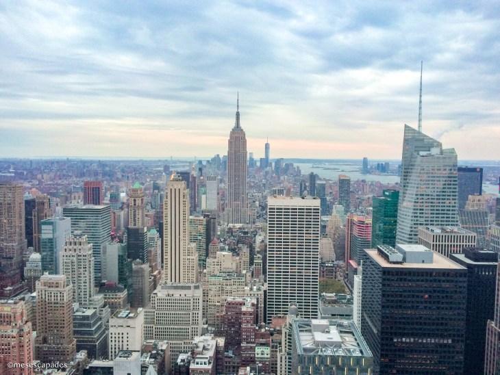 Vue sur New York depuis Top of the Rock