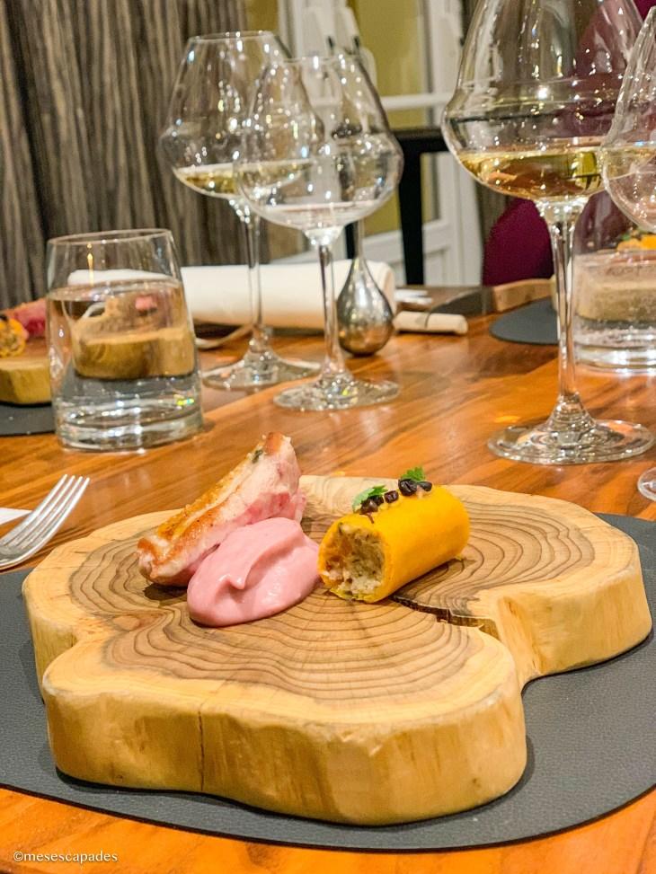 Poule faisane et courge du Berry - La Table d'à Côté, Orléans