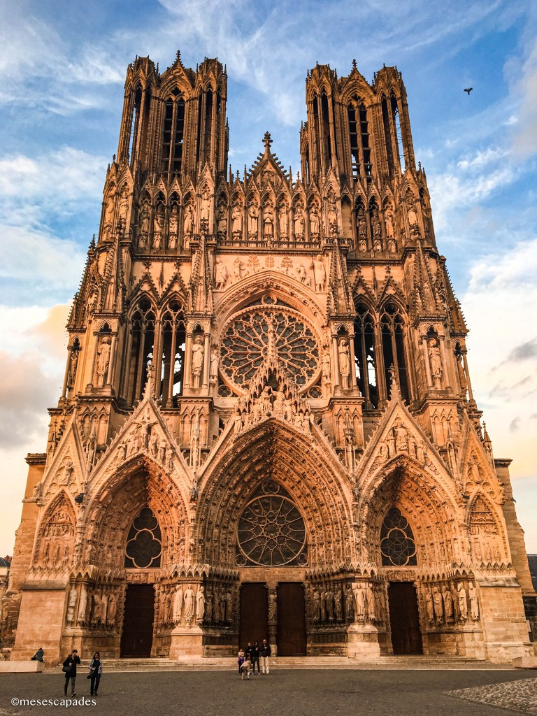 Cathédrale de Reims de jour