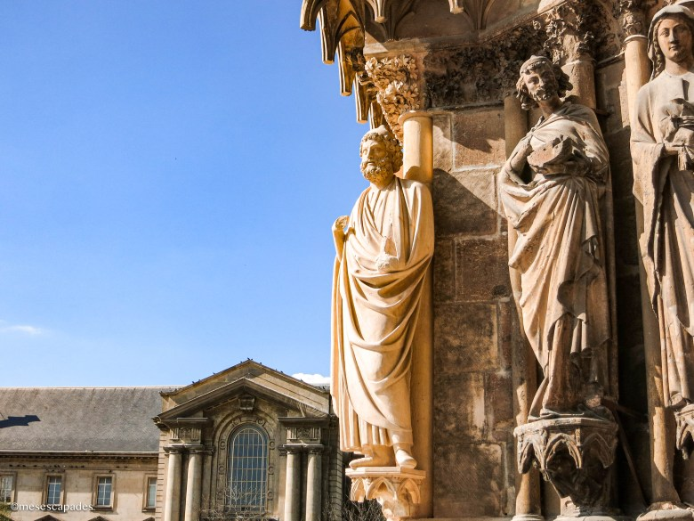 Les hauteurs de la cathédrale de Reims