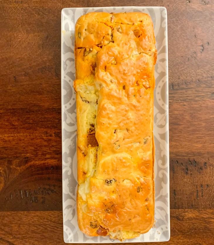 Cake Italien, chorizo, mozzarella et tomates séchées, recette facile