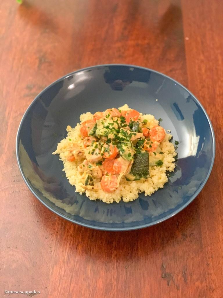 Recette wok carottes et courgettes, recette saine