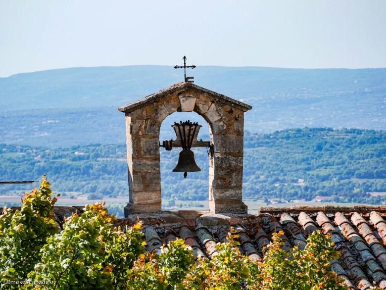 Vue depuis l'ancienne église de Bonnieux