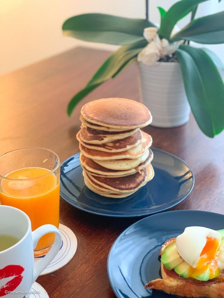 Recette gourmande de pancakes
