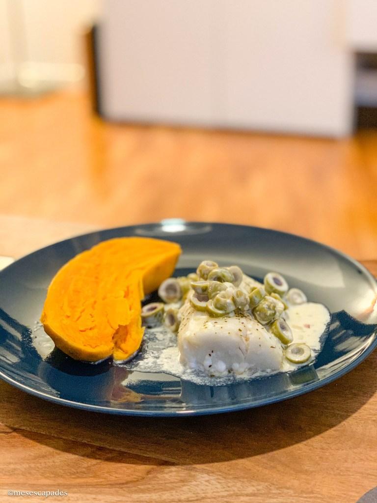 Recette du poisson aux olives et aux échalotes