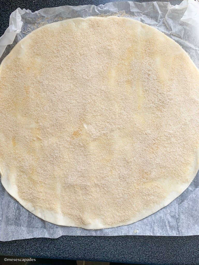 Recette des cinnamon rolls, étape par étape