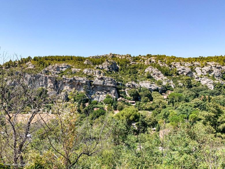 Les carrières des Baux de Provence