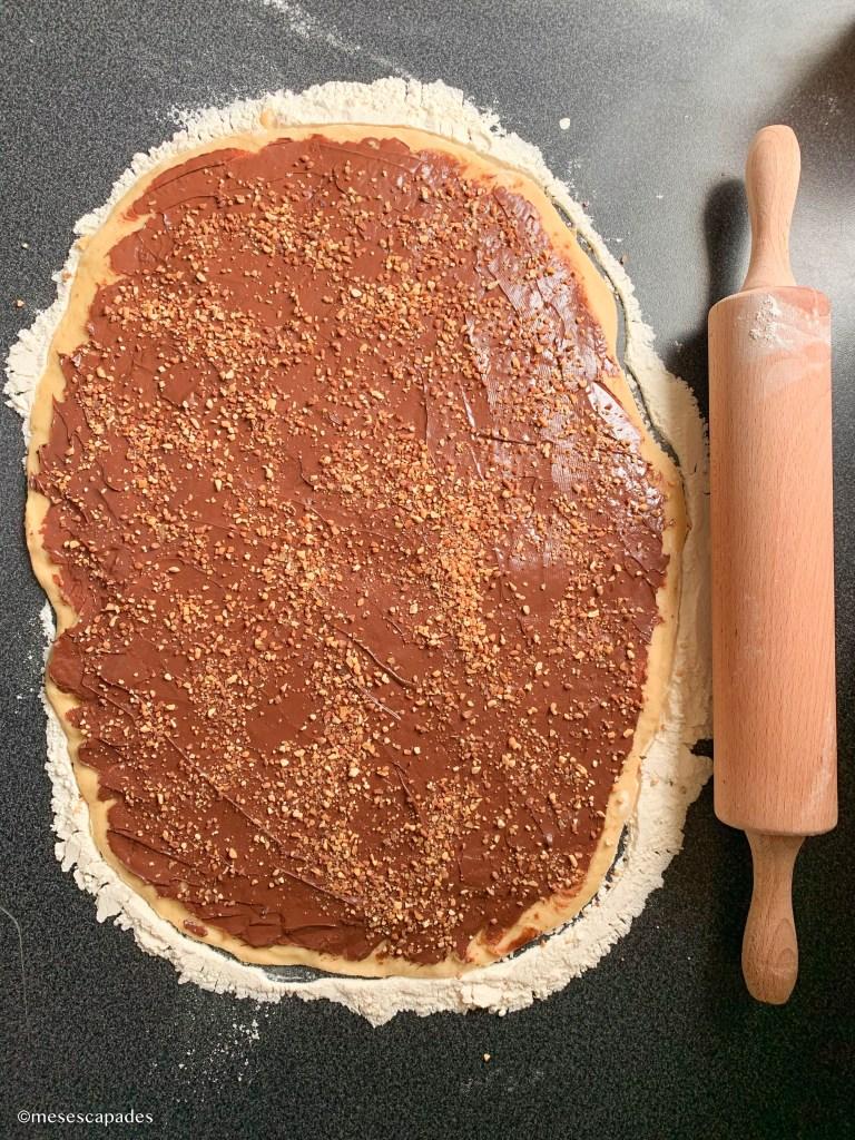 Recette de la babka nutella et praliné, facile à faire