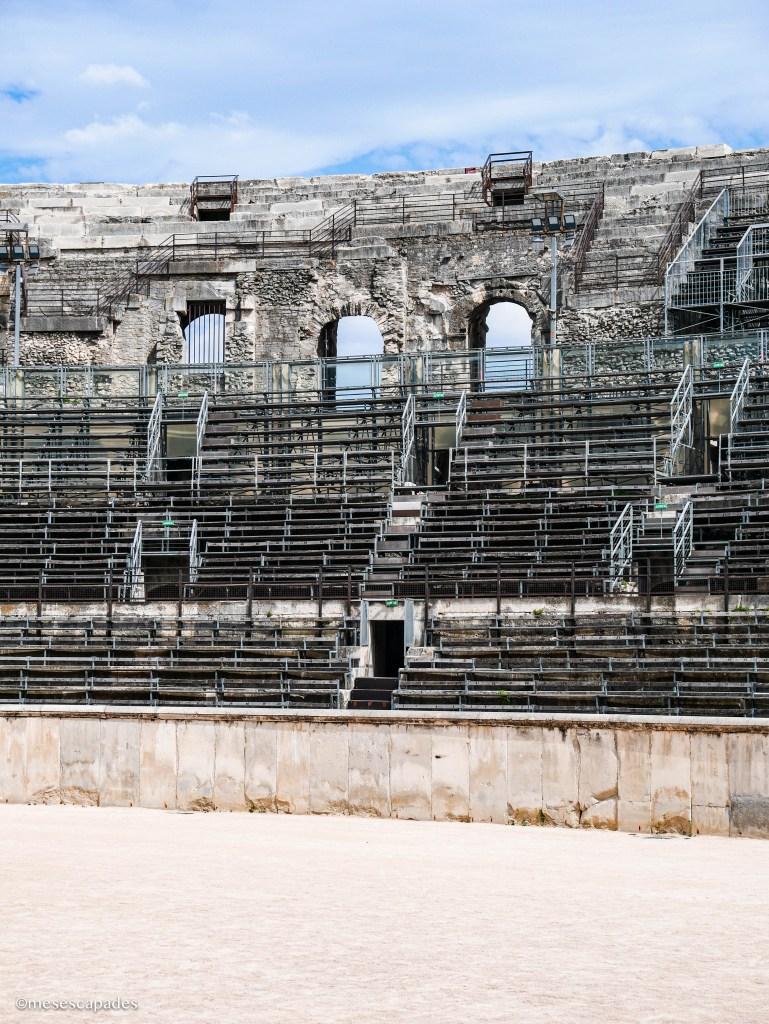 Les arènes de Nîmes, activité incontournable de Nîmes