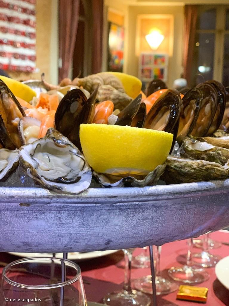 Les meilleurs fruits de mer à Nice