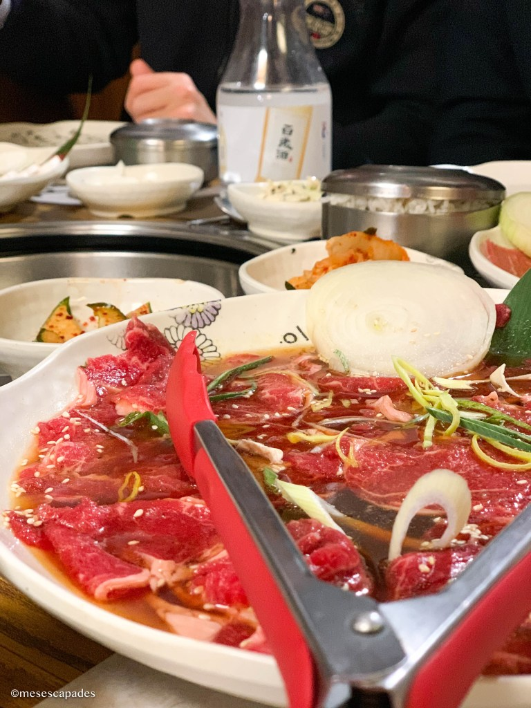 Barbecue coréen à Paris