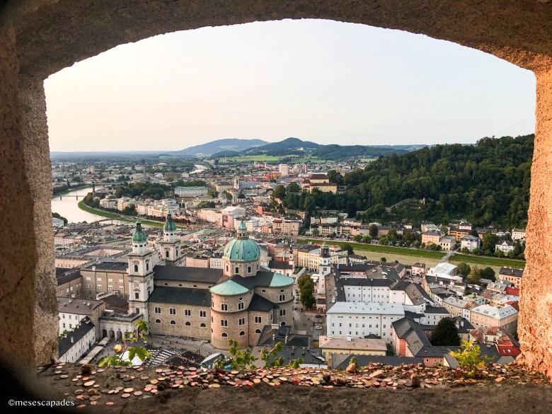 Panorama depuis la forteresse d'Hohensalzburg