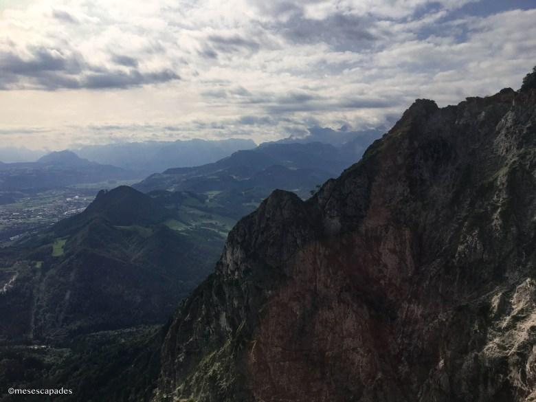 Les montagnes proches de Salzbourg