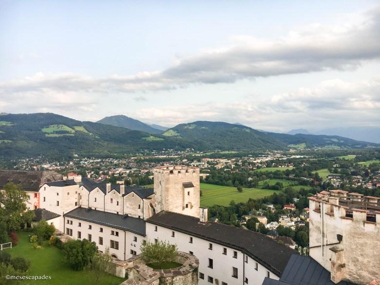 La forteresse Hohensalzburg