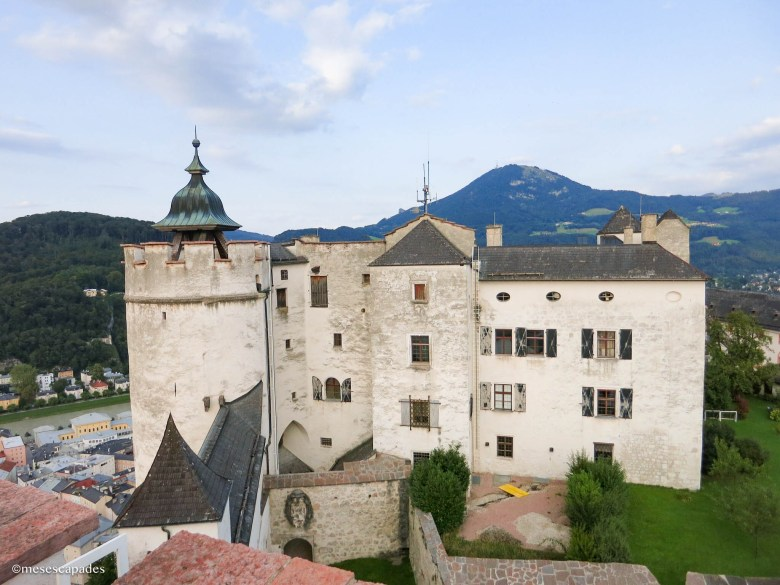 Vue depuis la forteresse Hohensalzburg