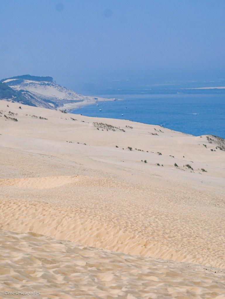 Dunes de sable en France