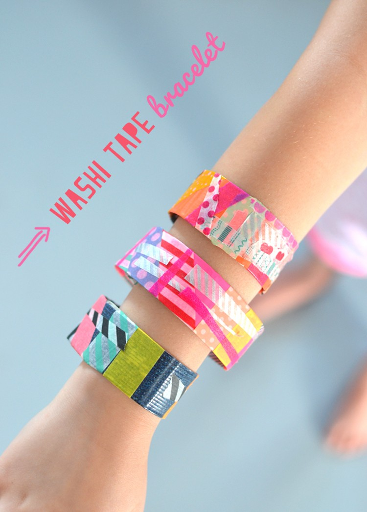 Wash Tape Bracelets The Sewing Rabbit
