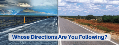Whose Directions Are You Following?
