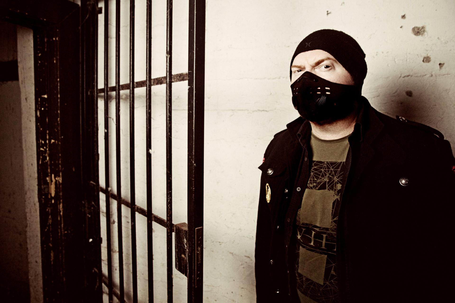 Dean from metal, thrash, rock, band meshiaak by karina wells