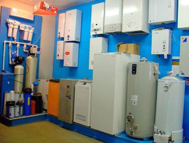 Оптовые поставки отопительных и водонагревательных котлов