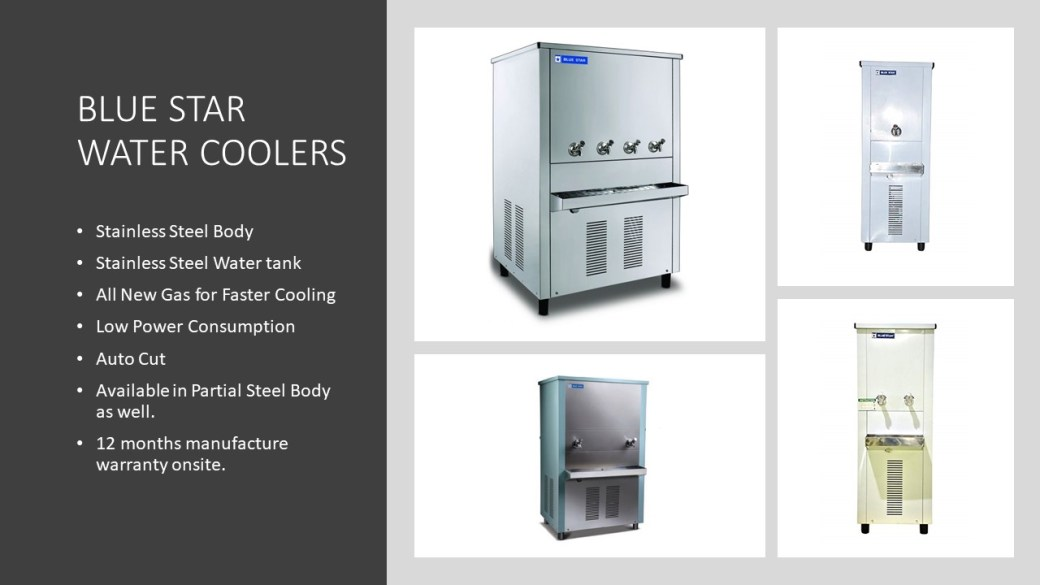 All New Blue star water cooler 2021 with Specification.