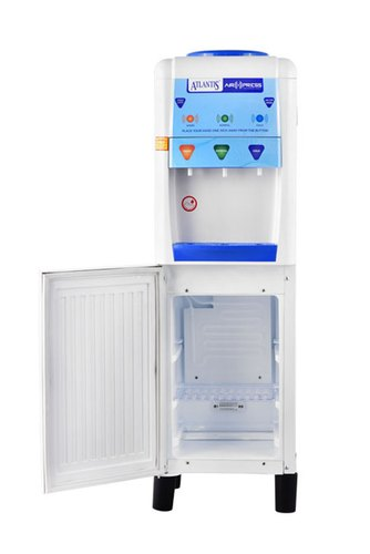 Air press water dispenser with cooling cabinet