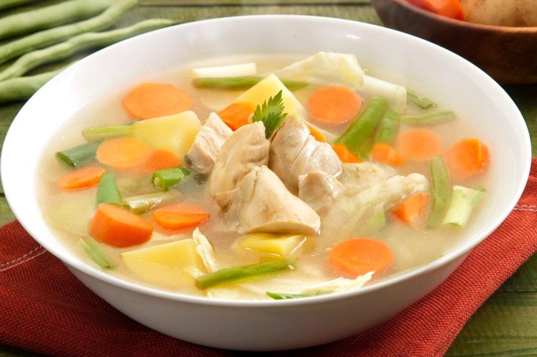 cara-membuat-sup-ayam