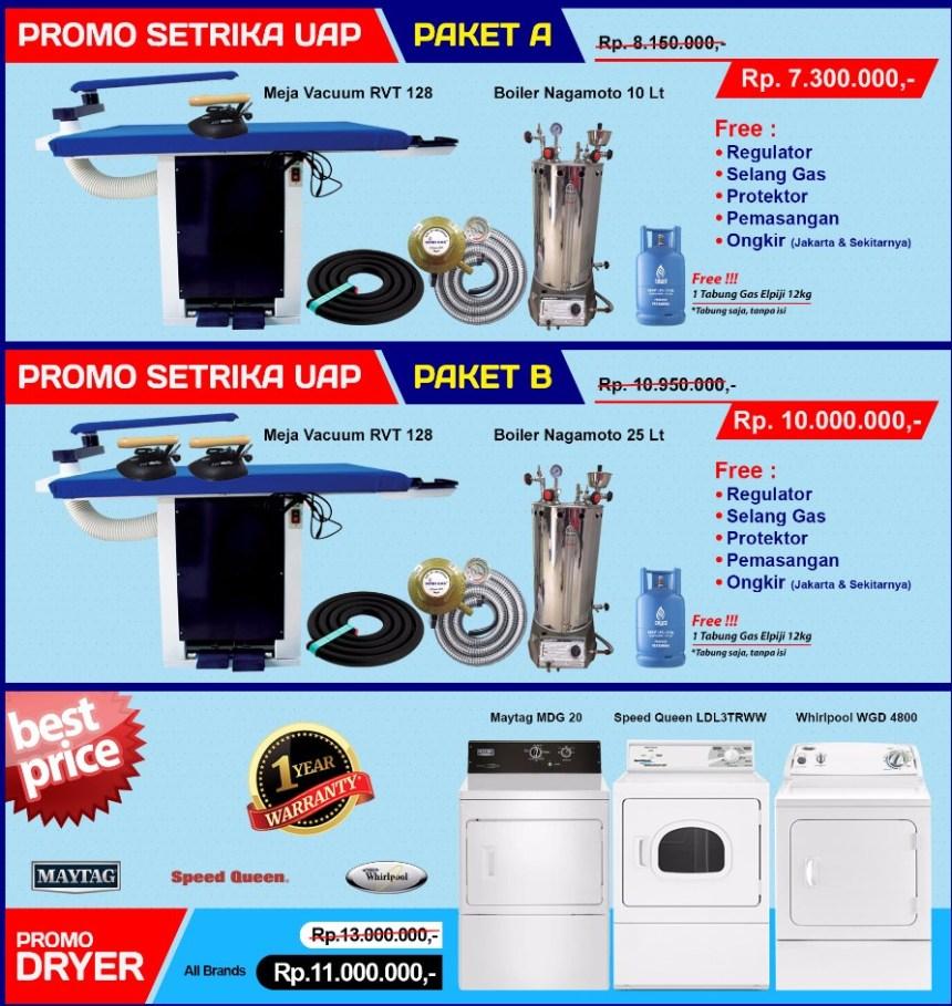 setrika-uap-boiler Jual boiler mini atau setrika steam berbagai ukuran untuk laundry