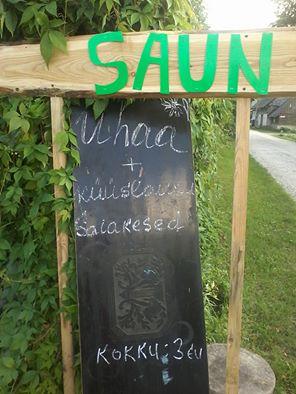 Pjotri sauna juures avatud ka perenaise köök