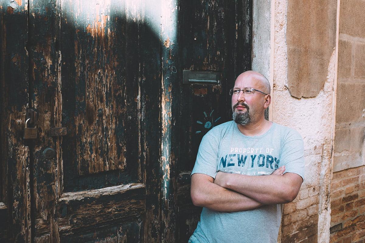 Męski portret Paweł