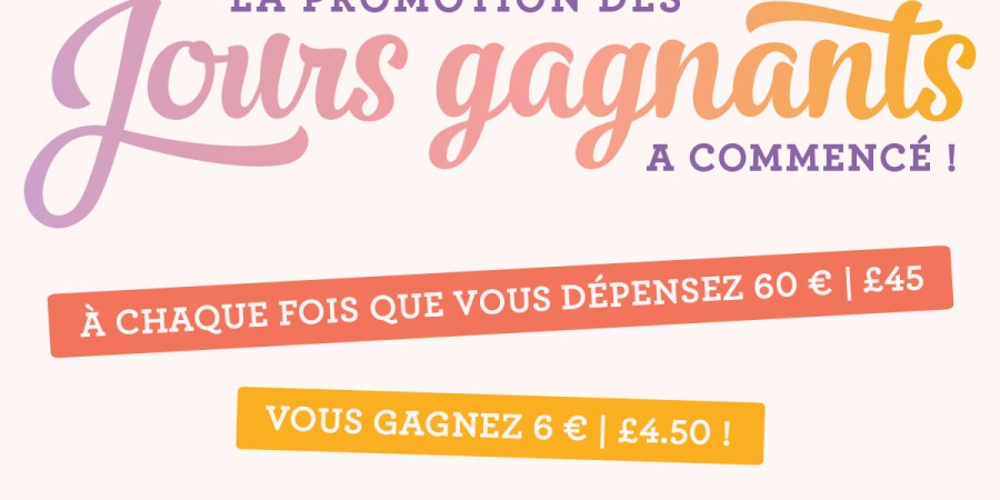 promotion stampin up bon d achat offert