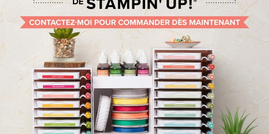 Rangements tampons stampin'up