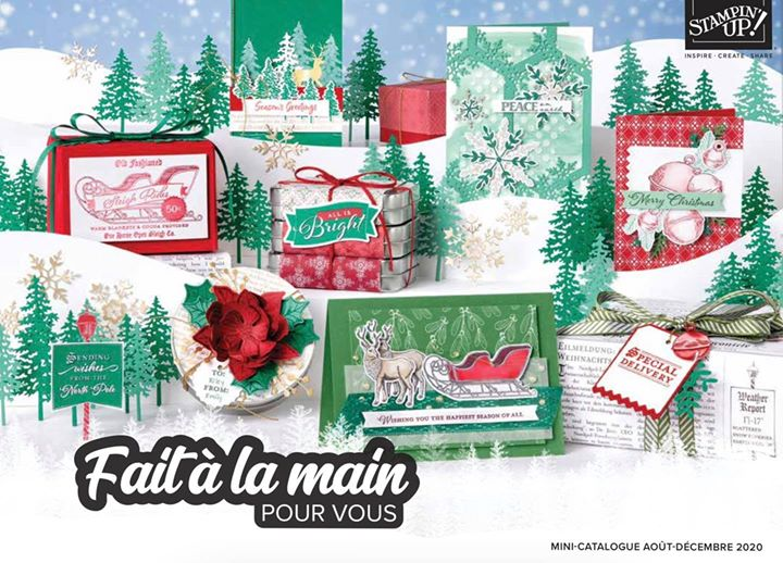 Catalogue automne hiver Stampin'Up!