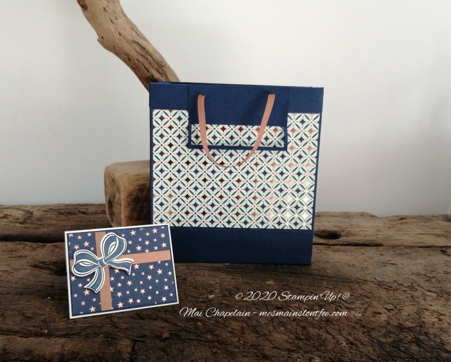 Emballage cadeau stampin up