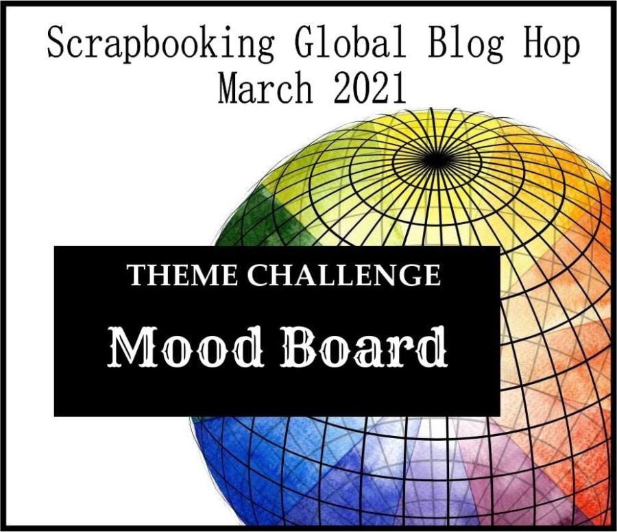 Mood board stampin up
