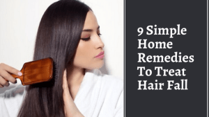 remedies to treat hair fall