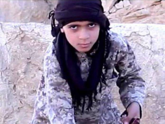 ISIS Bride or Syrian boy