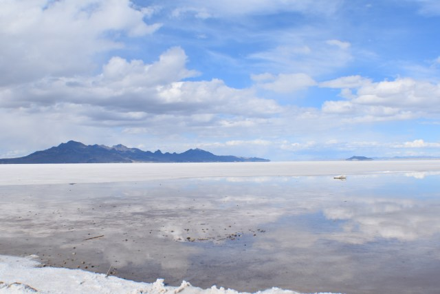 The Donner Party and the Bonneville Salt Flats.