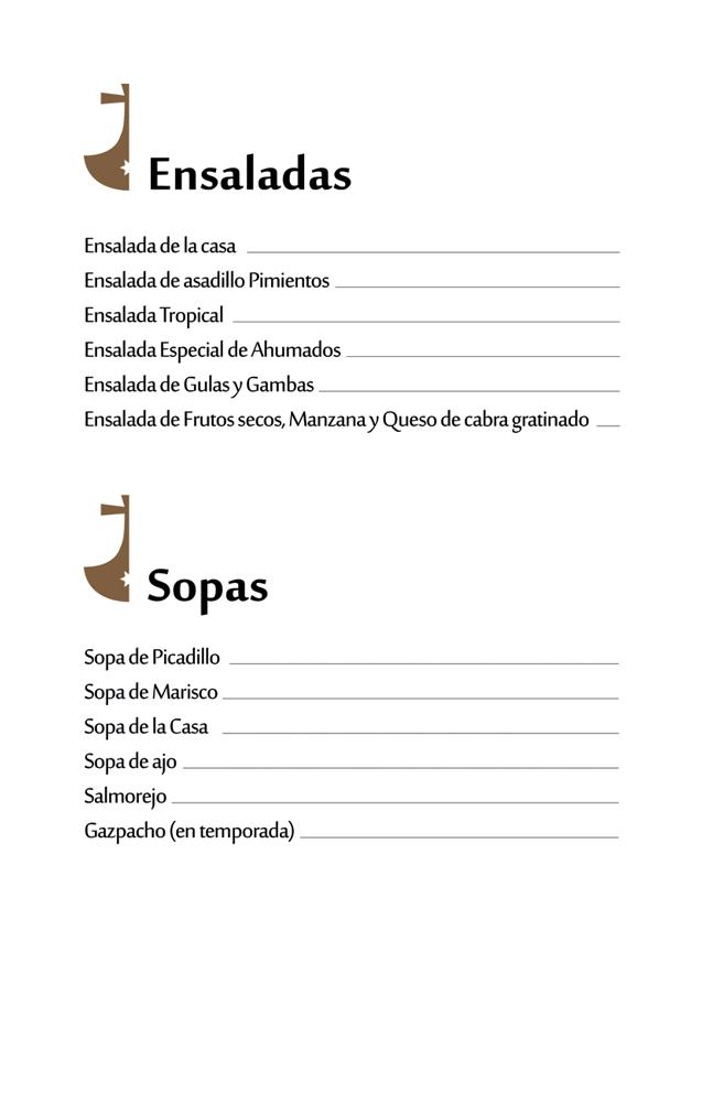 Ensaladas-Sopas