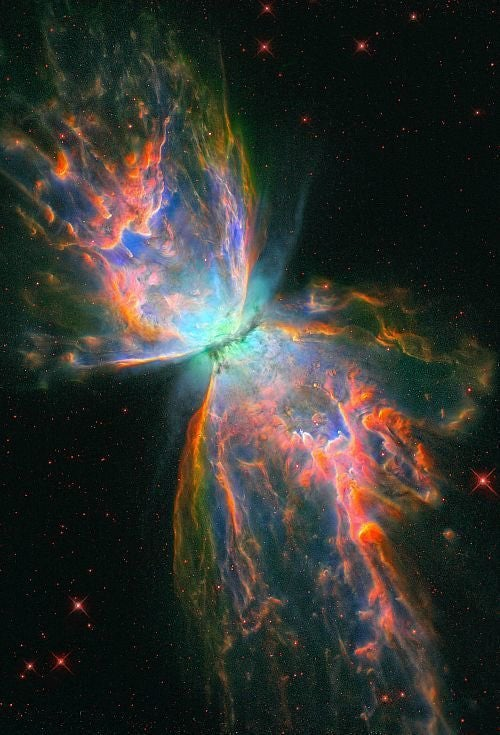 Stunning Hubble Images Showing Two Nebulae That Have 'Going Berserk'