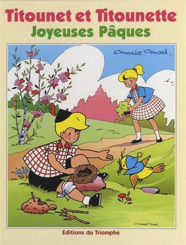 Editions-du-Triomphe-Titounet-et-Titounette,-Tome-23-.-Joyeuses-Paques-54441331