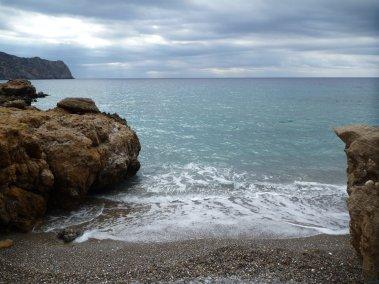 Notre toute petite plage