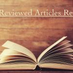 Peer-Reviewed Articles Review: Winter 2018/2019 (Part 4)