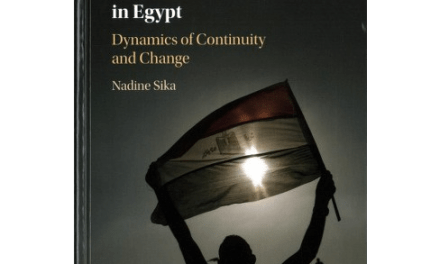 NEWTON: Youth Activism and Contentious Politics in Egypt: Dynamics of Continuity and Change