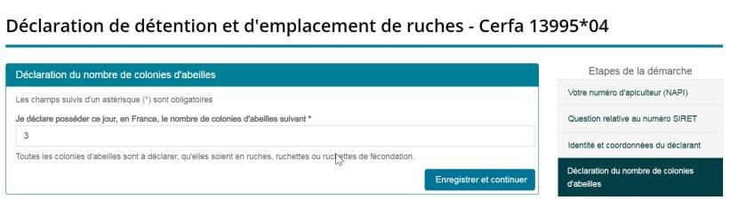 compter ruches