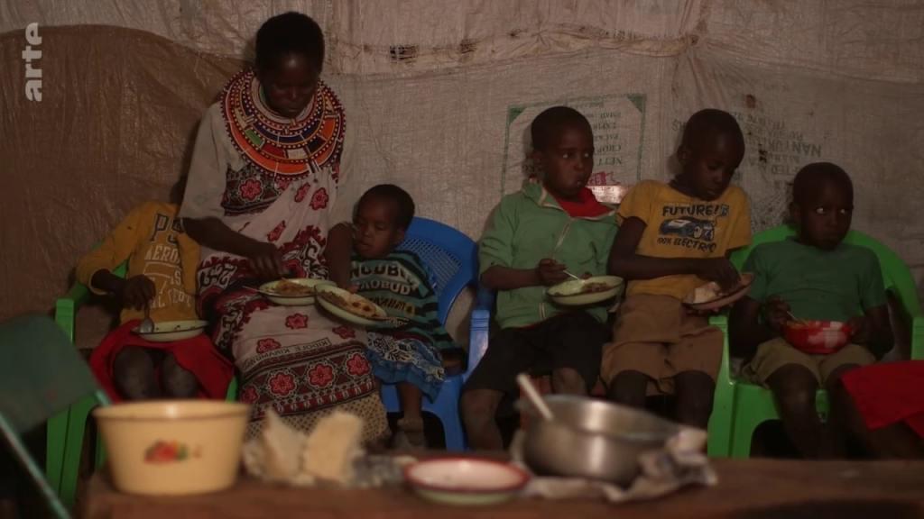 famille afrique kenya