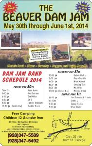 BeaverDam_Jam_Schedule_May_27