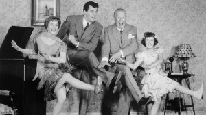 Piper Laurie, Rock Hudson, Charles Coburn and Gigi Perreau in Has Anybody Seen my Gal