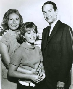 Jean Byron, Patty Duke, and William Schallert from The Patty Duke Show.