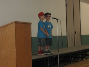 Benito and Elijah Warren